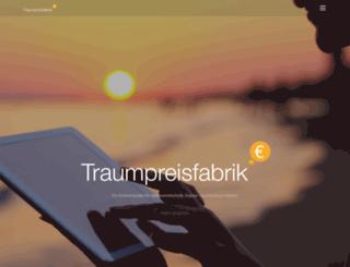 traumpreisfabrik.de screenshot