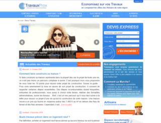 travauxprox.com screenshot