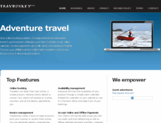travdonkey.com screenshot