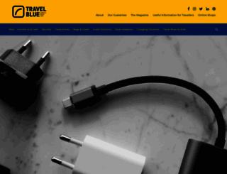 travel-blue.com screenshot
