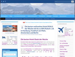travel-cheaper.de screenshot