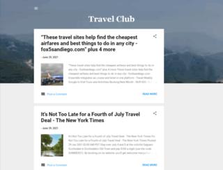 travel-club-business.blogspot.com screenshot