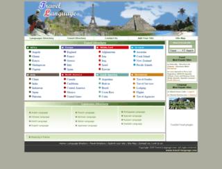 travel-language.com screenshot