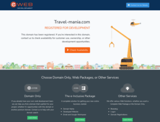 travel-mania.com screenshot