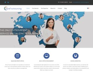 travel-outsourcing.com screenshot