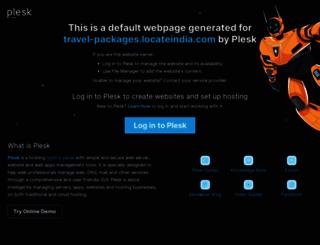 travel-packages.locateindia.com screenshot