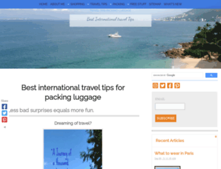 travel-tips-packing-luggage.com screenshot
