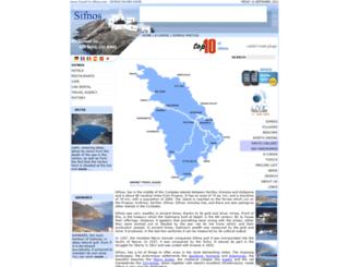 travel-to-sifnos.com screenshot