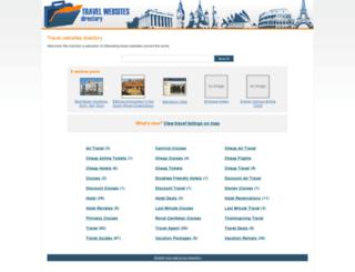travel-websites-directory.com screenshot