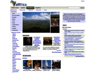 travel.allafrica.com screenshot