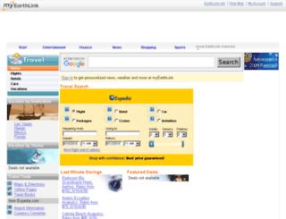 travel.earthlink.net screenshot