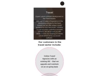 travel.extentia.com screenshot