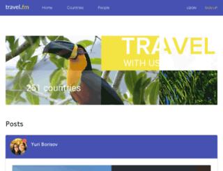 travel.fm screenshot