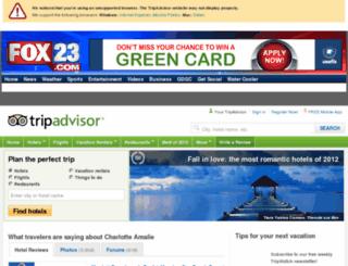 travel.fox23.com screenshot