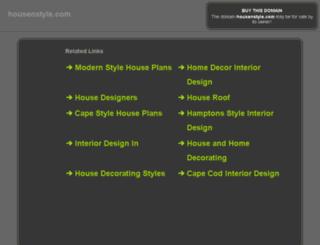 travel.housenstyle.com screenshot