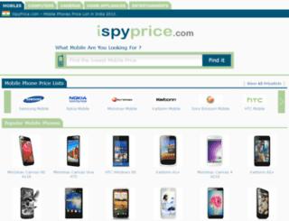 travel.ispyprice.com screenshot