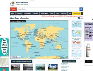 travel.mapsofworld.com screenshot