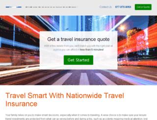 travel.nationwide.com screenshot