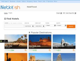travel.netkosh.com screenshot