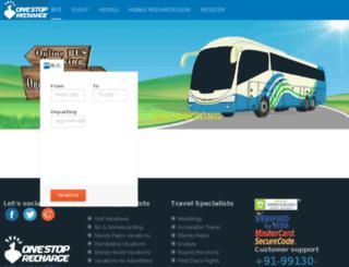 travel.onestoprecharge.com screenshot