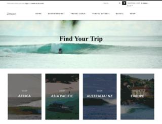 travel.shop.surf screenshot