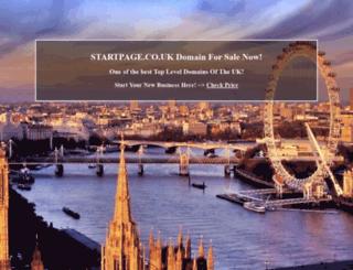 travel.startpage.co.uk screenshot