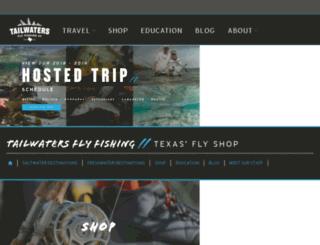 travel.tailwatersflyfishing.com screenshot