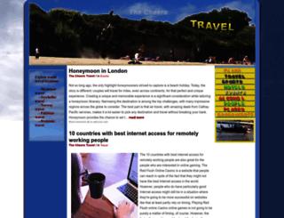 travel.thecheers.org screenshot