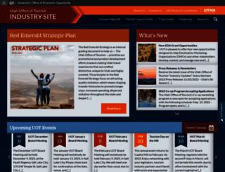 travel.utah.gov screenshot