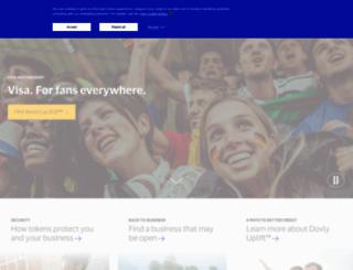 travel.visa.com screenshot