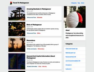 travel2mada.com screenshot
