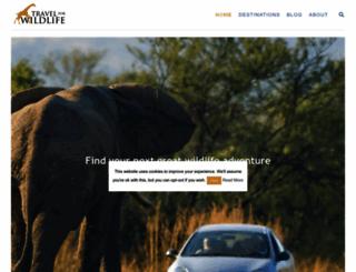 travel4wildlife.com screenshot