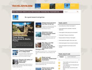traveladvis.com screenshot