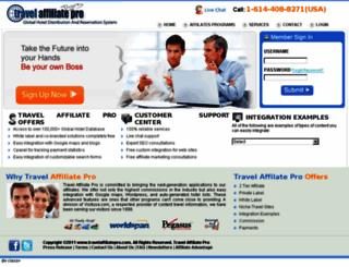 travelaffiliatepro.com screenshot