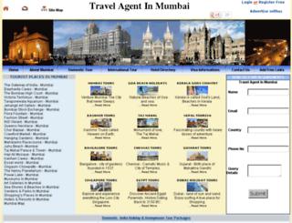 travelagentmumbai.com screenshot