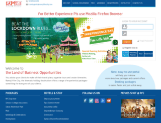 travelagents.ramojifilmcity.com screenshot