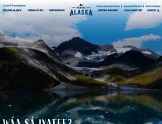 travelalaska.com screenshot