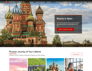 travelallrussia.com screenshot