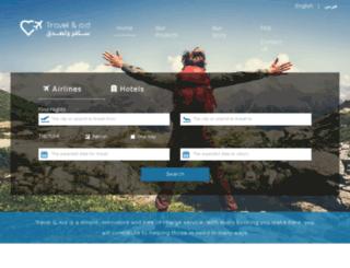 travelandaid.com screenshot