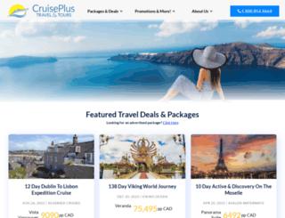 travelandcruisedeals.com screenshot