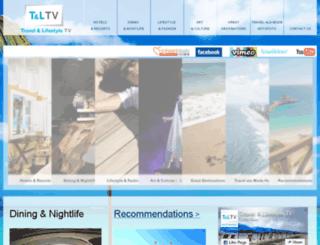 travelandlifestyletv.com screenshot