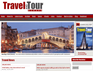 travelandtoureurope.com screenshot