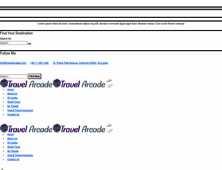 travelarcades.com screenshot
