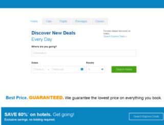travelb.priceline.com screenshot