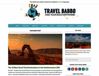 travelbabbo.com screenshot
