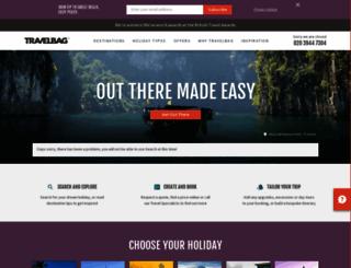 travelbag.co.uk screenshot