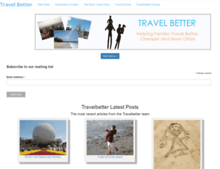 travelbetter.co.uk screenshot