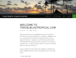 travelblogtropical.com screenshot