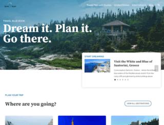 travelbluebook.com screenshot
