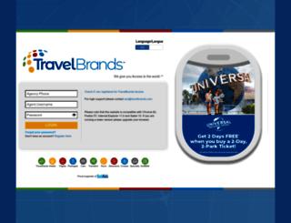 travelbrandsagent.ca screenshot